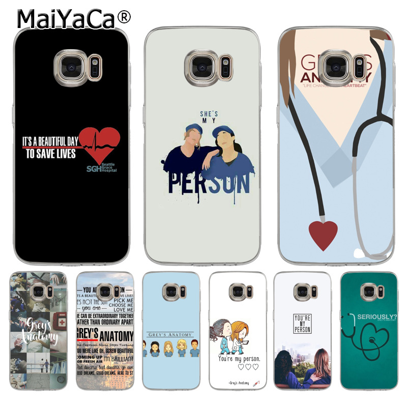 MaiYaCa You\'re My Person Greys Anatomy Coque Shell Phone Case for ...