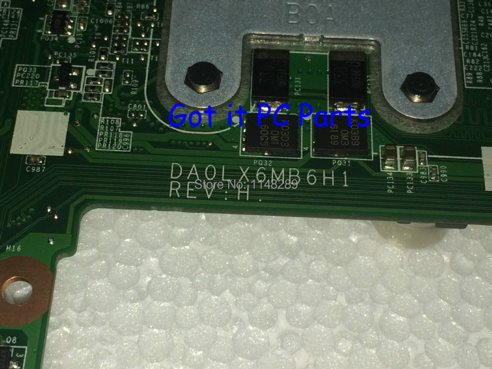 HOT IN RUSSIA UKRAINE NEW  FREE SHIPPING 630279-001 DA0LX6MB6H1 REV :H MOTHERBOARD for HP Pavilion DV6 Notebook PC NO FIT I7 CPU kicx pdn 652