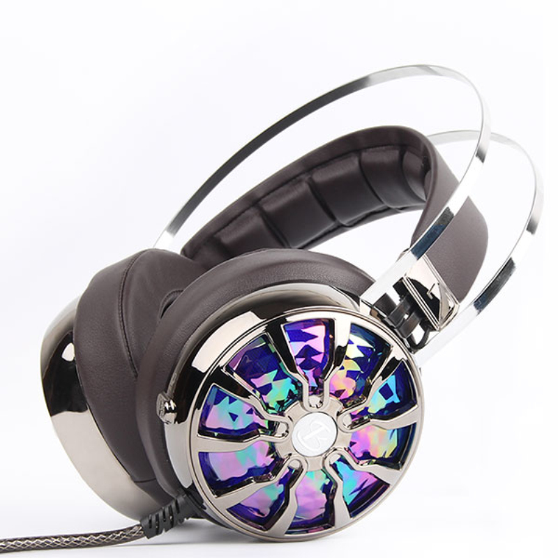 2017 Hot Sale Earphone Hongmeng G610s Game Headset Surround Sound Bendable Microphone For Audio Headphone Amplifier Cable Pc each g8200 gaming headphone 7 1 surround usb vibration game headset headband earphone with mic led light for fone pc gamer ps4