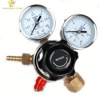 Dual Co2 Gas Regler, doppel-Gauge Kohlendioxid Regler, Homebrew CO2 Zylinder Druckregler