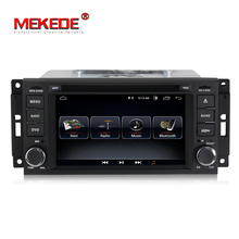 Wholesale! android 8.0 car radio audio gps dvd player for JEEP Wrangler Compass Patriot Grand Cherokee Commander Dodge