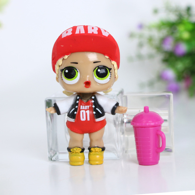 Super Cute Mini Plastic Dolls