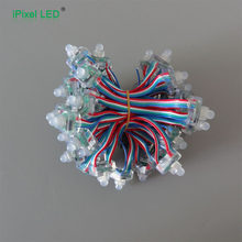 12mm WS2801IC direccionable rgb led pixel Color mágico(China)