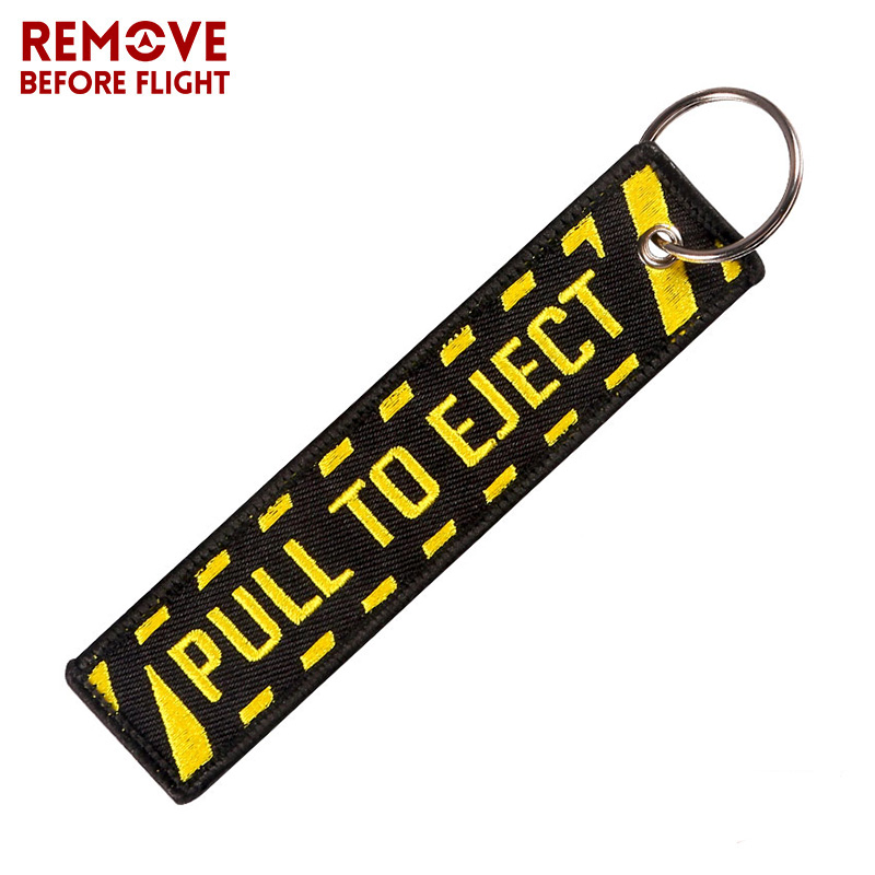 pull to eject keychain