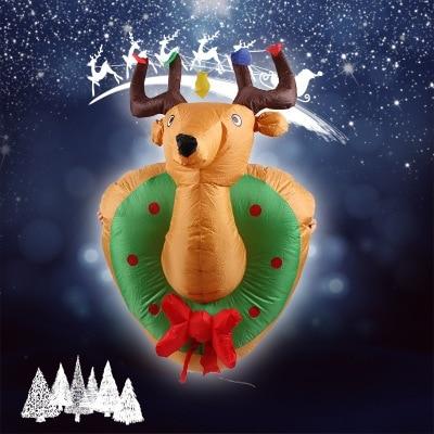 gonflable de noel suspendus rennes 4 pieds de noel accueil cour coup up decoration pour decor de vacances