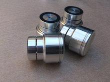 4 Pcs D48 * H50 Geluidsisolatie Schokbestendig Spikes Maglev Voeten Hifi Audio Stand Mat