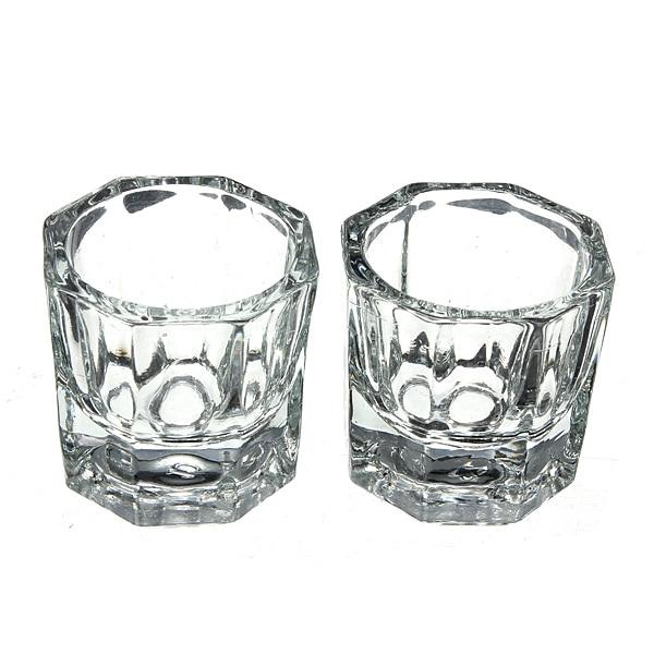 clear acrylic glassware