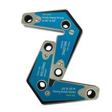 2 шт. Сильный магнитный управление двойной переключатель сварочный магнит фиксатор угол 90 градусов магнитное положение сварочное устройство