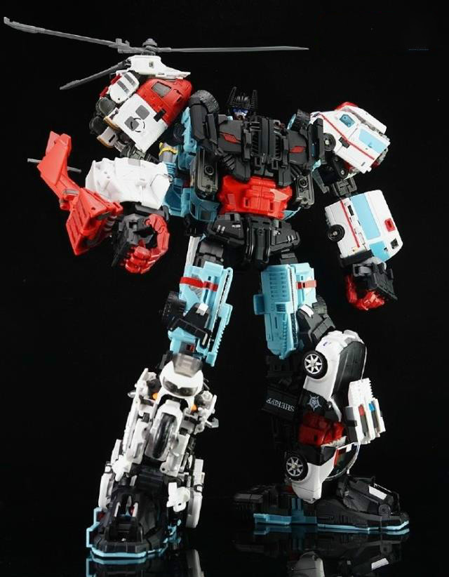 Robot Toys Transformation Yes Model YM Series Defensor Hot Spot First Aid Streetwise Blades Groove Action