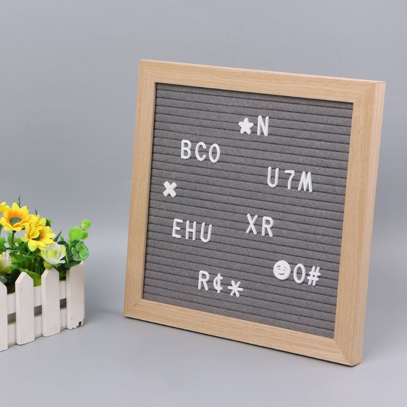 Letter Board Letters Set 170 Numbers Special Characters Words For Felt Changeable Message Signs & Letterboards