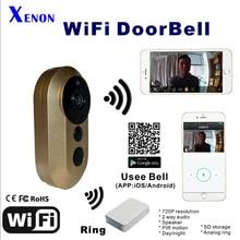 Wi-fi IP WiFi Doorbell Help  HD Video Intercom Distant Sensible Residence Automation Sensor PIR 433MHZ system