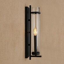 MODERN LED Iron wall lamp glass lampshade wall light for living room bedroom washroom restaurant bar cafe E14 110V 240V все цены