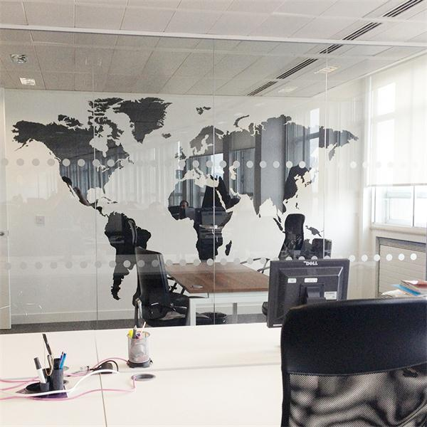 3 colors large size global world map pvc wall sticker living study 3 colors large size global world map pvc wall sticker living study room office classroom decor diy wall art poster in wall stickers from home garden on gumiabroncs Gallery