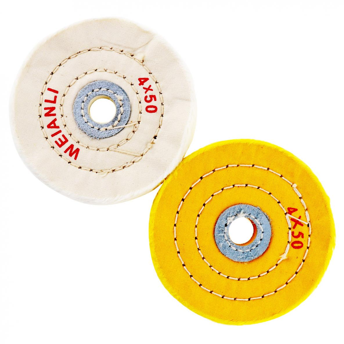 "5/"" Diameter Buffing Polisher Polishing Wheel Black Yellow"