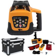 Yonntech Automatic Self Levelling Rotating Laser Level Rotary Laser 500m Range RED