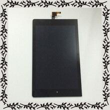 Черный Для Lenovo YOGA Tablet 8 B6000 b6000-f 60043 ЖК-дисплей Дисплей монитор + дигитайзер с сенсорным экраном и сенсорной панелью Стекло сборки