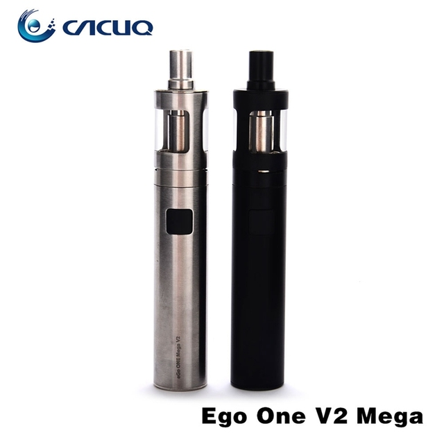 100% Original ego one mega v2 kit e cigarette kit 2300mah battery 4.0ml eGo ONE Mega atomizer electronic cigarette ego one mega