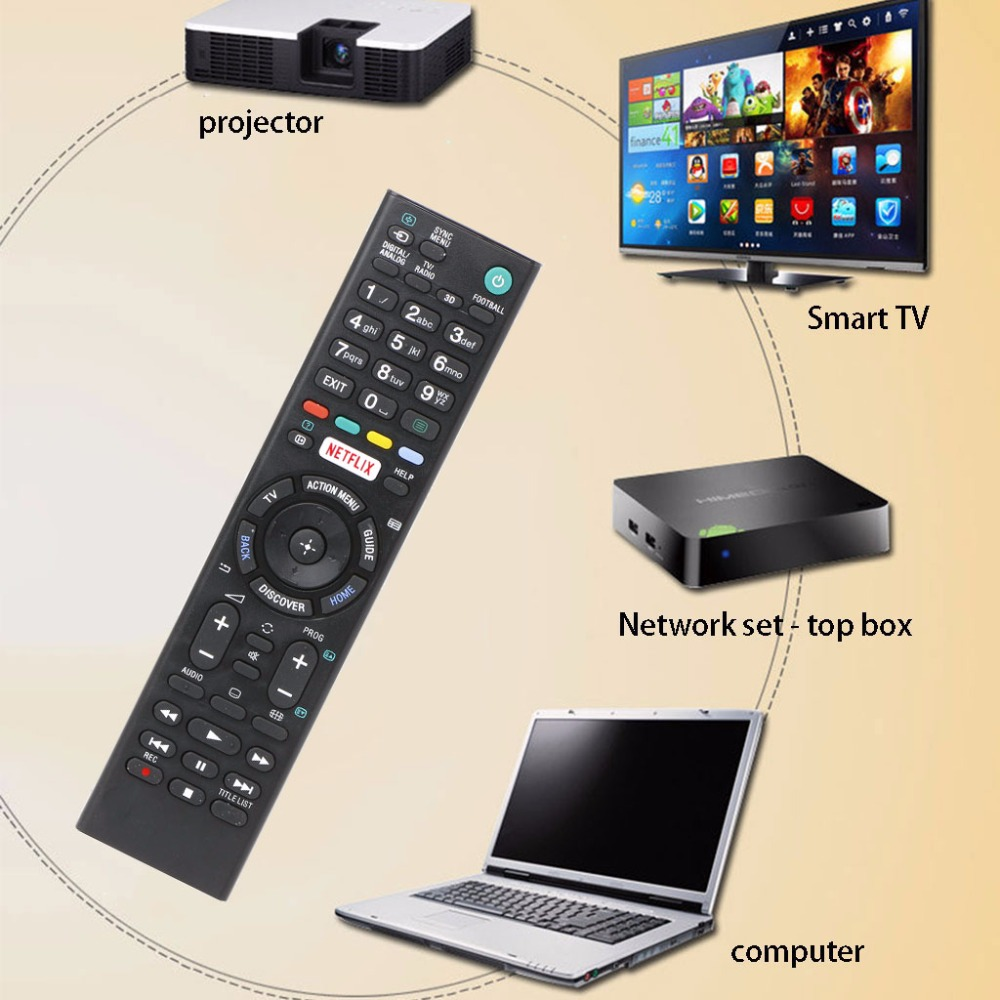 Remote Control For Sony LCD LED HD Smart TV RMT-TX100D RMT-TX101J RMT-TX102U led телевизор panasonic tx 43dr300zz