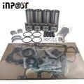V3307 V3307-DI-TE3 M6040 ремонтный Ремонтный комплект поршни кольца прокладка для двигателя Kubota Bobcat S630 T650 S650