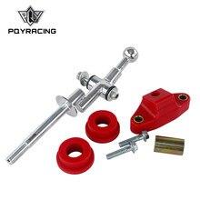 PQY - 6 Geschwindigkeit Stahl und Poly Short Throw Shifter & 85A Buchse Kit Für 04 + Subaru Wrx Sti PQY-SFT01-06 + SSB02