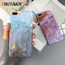 Luxury Marble Phone Case For iPhone 7