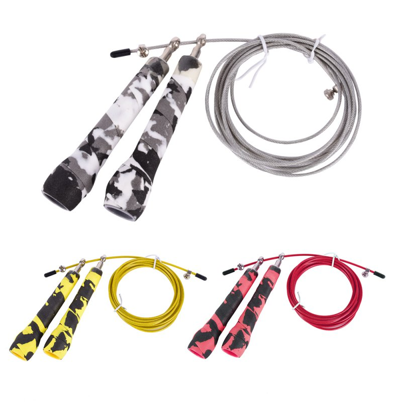 Brand New Speed Skipping Jump Rope Adjustable Steel Wire Crossfit Exercise Gym Training