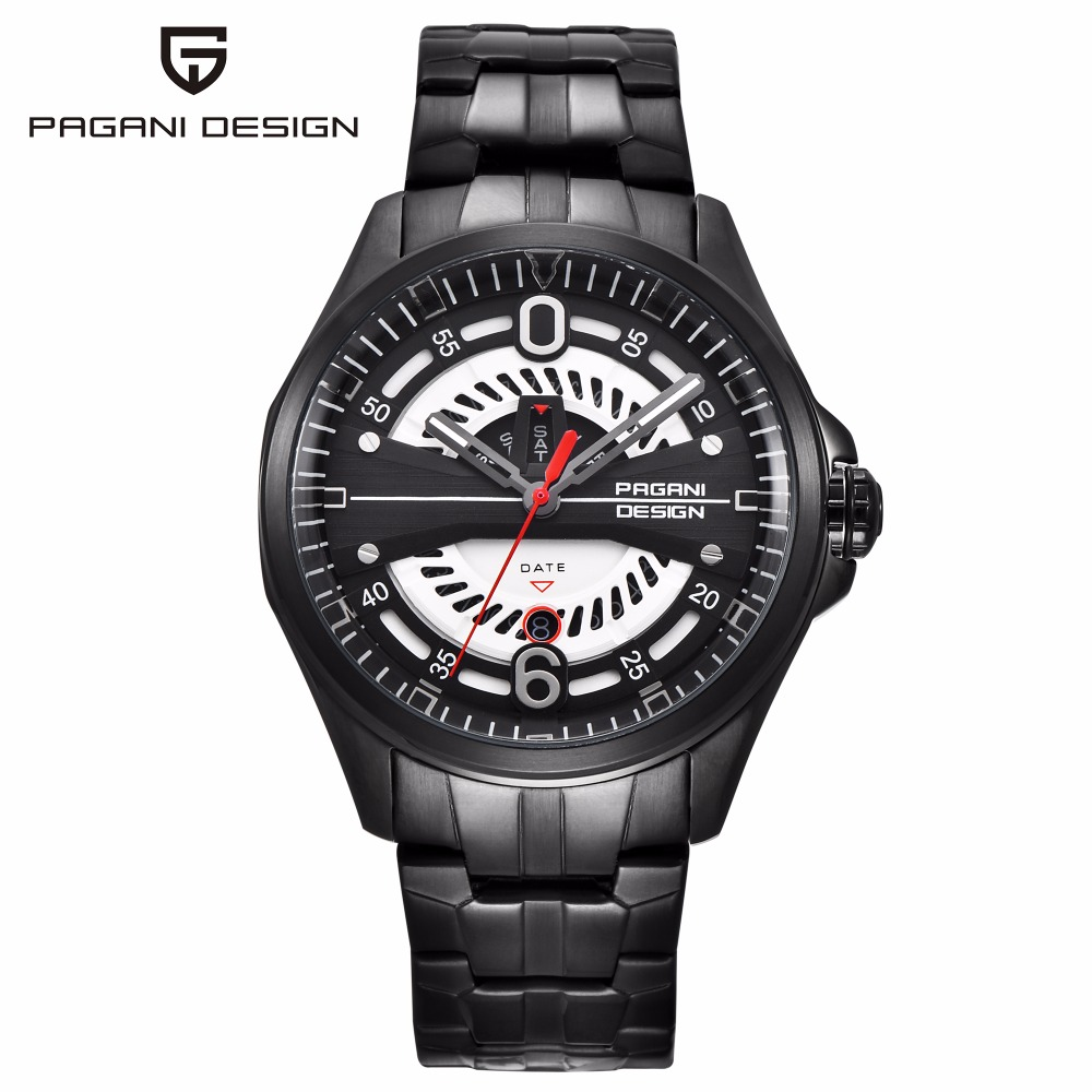 все цены на PAGANI DESIGN Men Military Watch Mens Watches Top Brand Luxury Army Quartz Wrist Watch Clock Men relojes saat Relogio Masculino