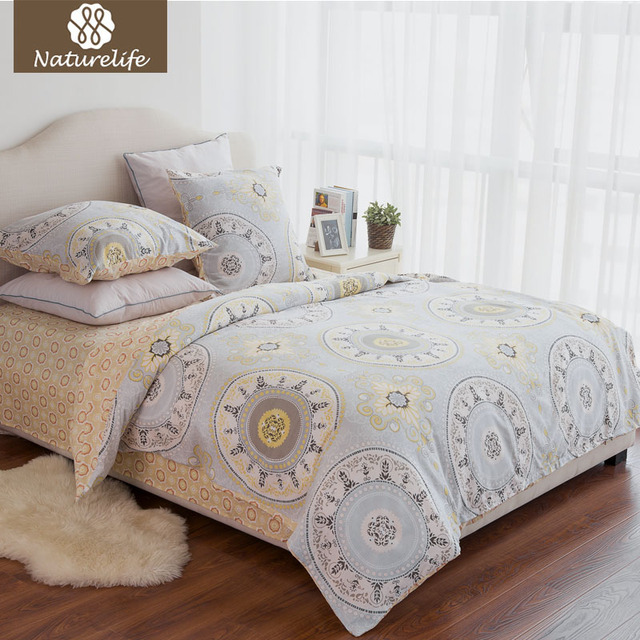 Aliexpress.com : Buy Naturelife New Bedding set Cotton cover bed ...