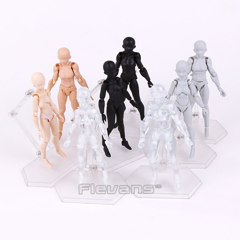 MAX FACTORY MASAKI APSY Figma Archetype He / SHE PVC Action Figure Collectible Model Toy 4 Colors archetype transparent ver she