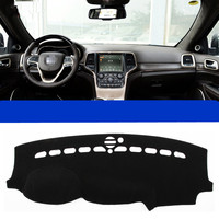 Fit For Jeep Grand Cherokee 2011 2015 Car Dashboard Cover Avoid Light Pad Instrument Platform Dash