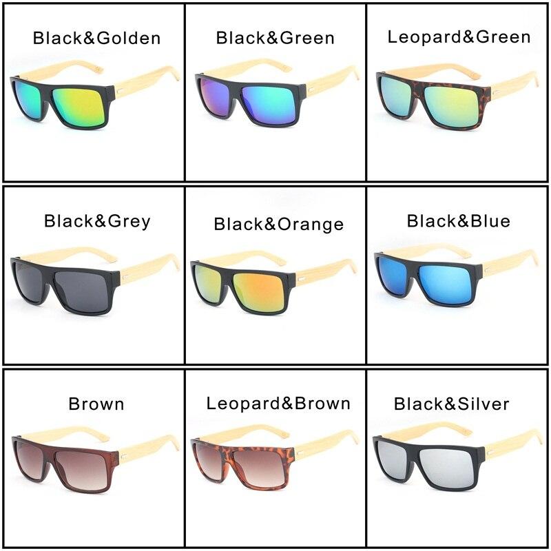 HDCRAFTER Oversized Bamboo Sunglasses Men s Wooden Sunglass for Women  Vintage Square Wood Sun Glasses Oculos de sol masculino-in Sunglasses from  Apparel ... 4e8edc6031