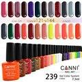 #30917 Новая мода CANNI горячие продажа 239 цвета 7.3 мл имена canni nail art замочить от уф/led лак для ногтей гелем