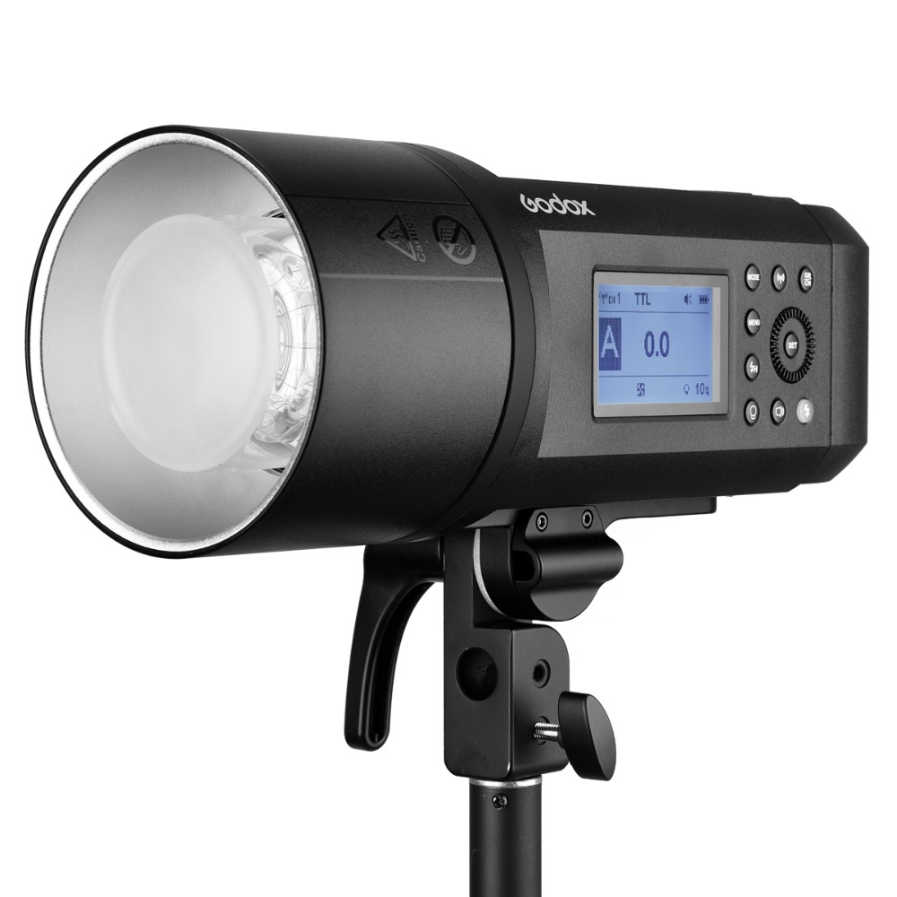 <font><b>Godox</b></font> <font><b>AD600</b></font> <font><b>Pro</b></font> WITSTRO All-in-One Outdoor Flash AD600Pro Li-on Battery TTL HSS Built-in 2.4G Wireless X System for Canon Nikon image
