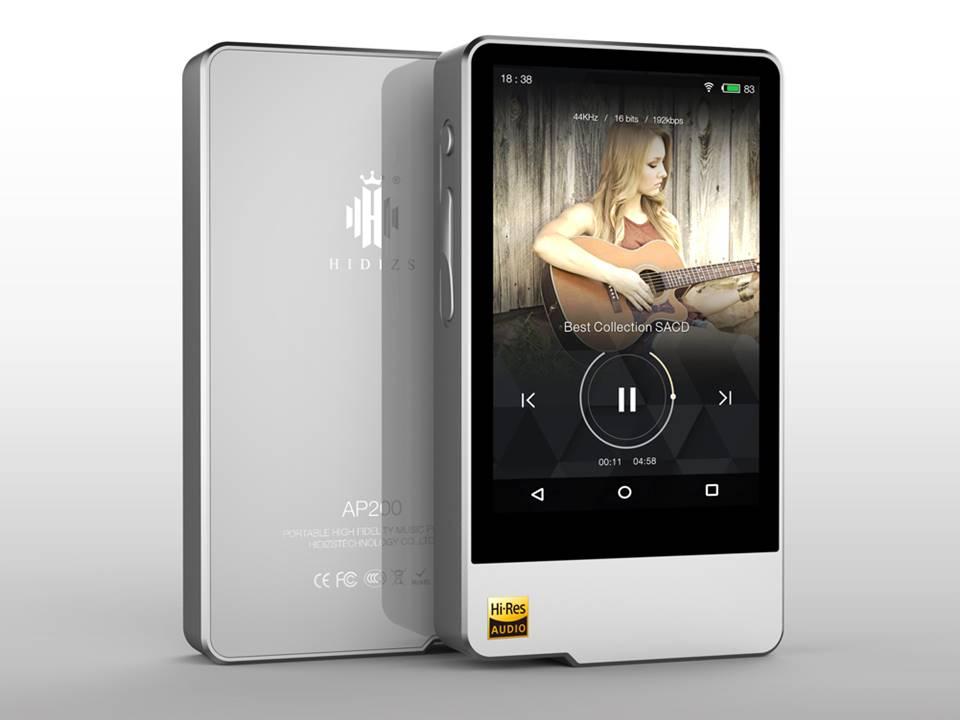 Hidizs AP200 Android Bluetooth ES9118C DAC DSD PCM FLAC HiFi Lossless Music Player