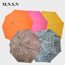 Мода складной зонт дождя Для женщин солнца свет зерна леопарда наружное ветрозащитный большой стиль солнечный и дождливый Paraguas JY0400