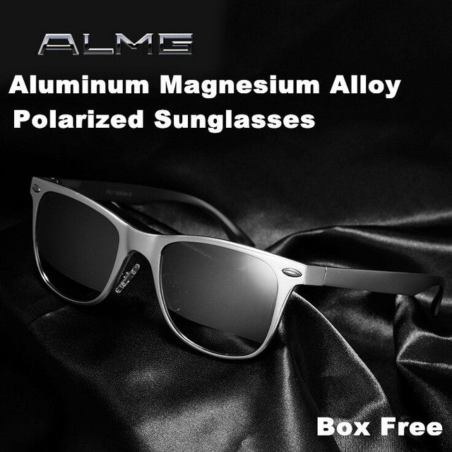 342024b171 Fashion Summer aluminum magnesium Polarized Driving Sunglass Polaroid  Sunglasses Brand Designer Men oculos masculino Audi Benz