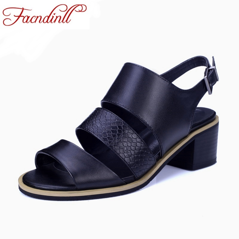 2017 new brand design open toe ankle strap women sandals thick heel summer black dress shoes fashion high quality summer shoes ankle strap wedge heel shoes for women comfort open toe shoes girls sandals 2016 new summer
