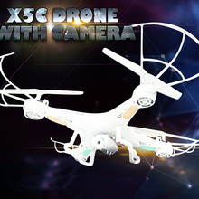 X5C WIFI FPV RC Quadcopter Drone With 720P Camera 4CH 2.4GHz Headless Helicopter Toy Gift for Adult Boy Kids HengGe
