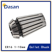 9pcs ER16 3 to 10mm Spring Collet Chuck CNC Workholding Engraving Spring Collet Milling Lathe Tool(China)
