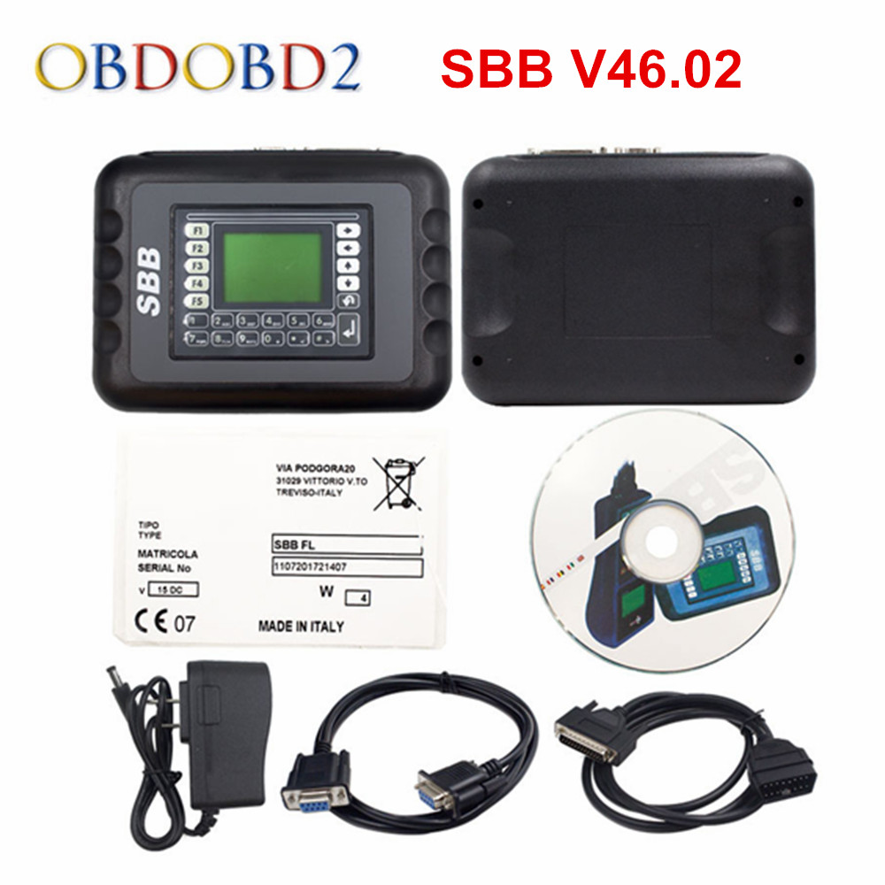 Best SBB V46 02 Key Programmer with 9 Languages Same Function As CK100 V46 02 Key
