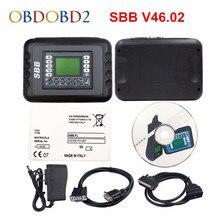Лучший программатор ключей SBB V46.02 с 9 языками, аналогичен функциям CK100 V46.02, изготовитель ключей с поддержкой новых автомобилей до 2014 года