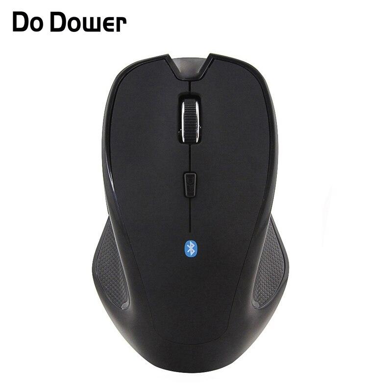 Dower bluetooth 3.0 rato óptico 1600 dpi 6d sem fio gaming computador escritório casa ratos windows 7/xp/vista portátil notebook