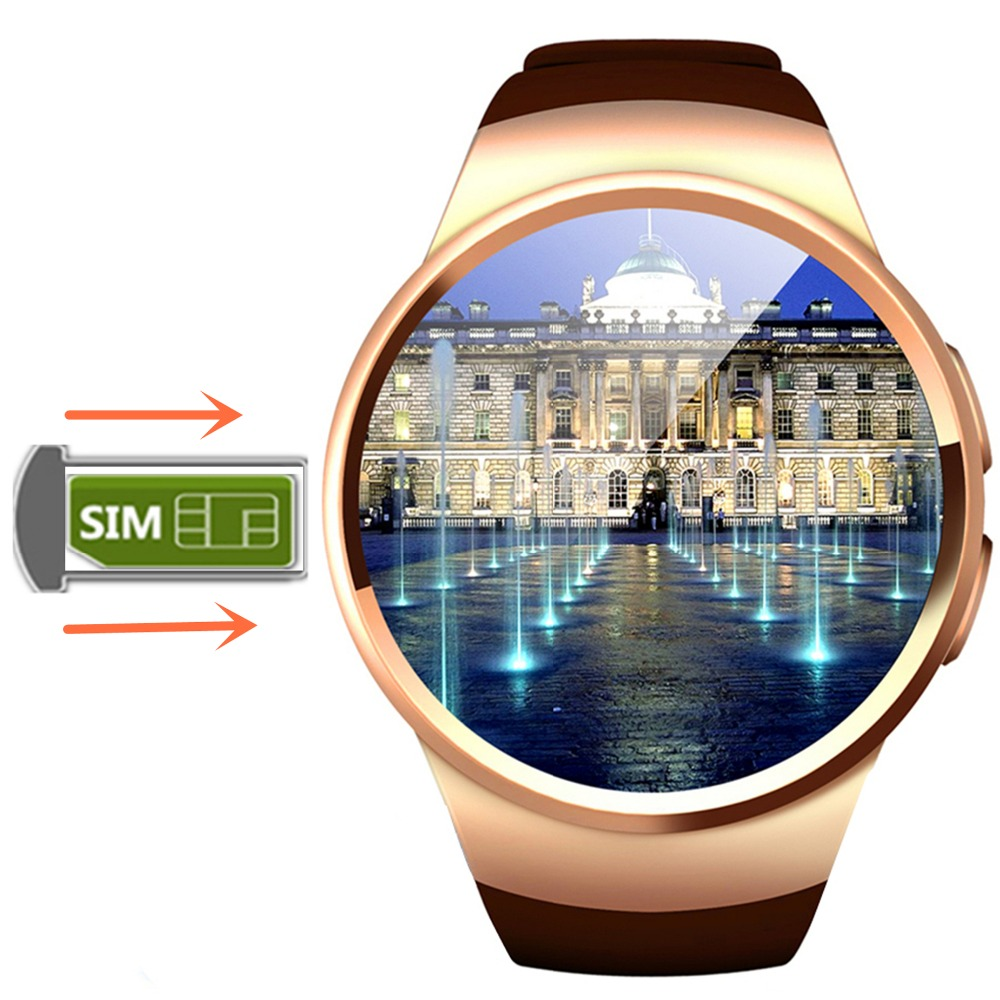 R6 bluetooth smart watch heart rate monitor wach connected phone smartwach sim card with font b