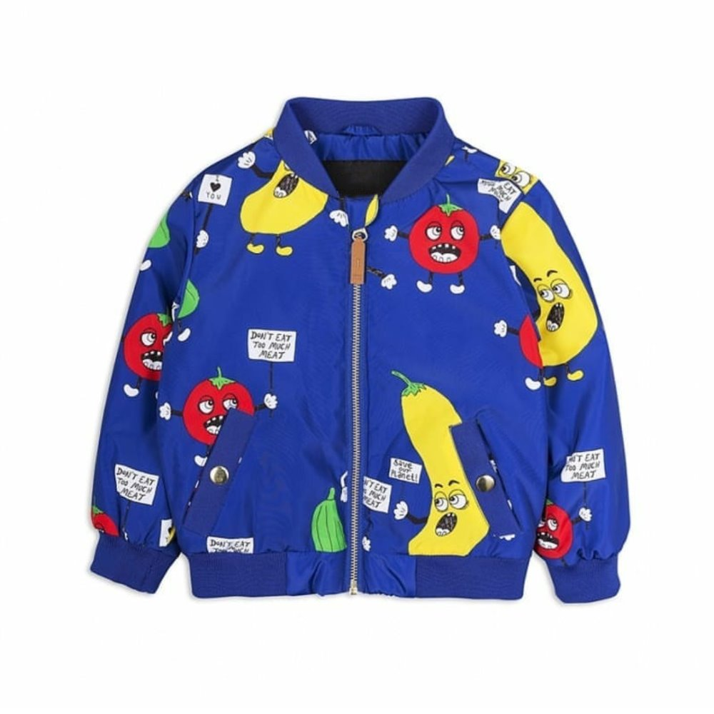 BOBOZONE Vegetable print jacket for autumn winter kids baby boys girls 2018 NEW coat bobo choses bobo choses юбка bobo choses модель 281253496