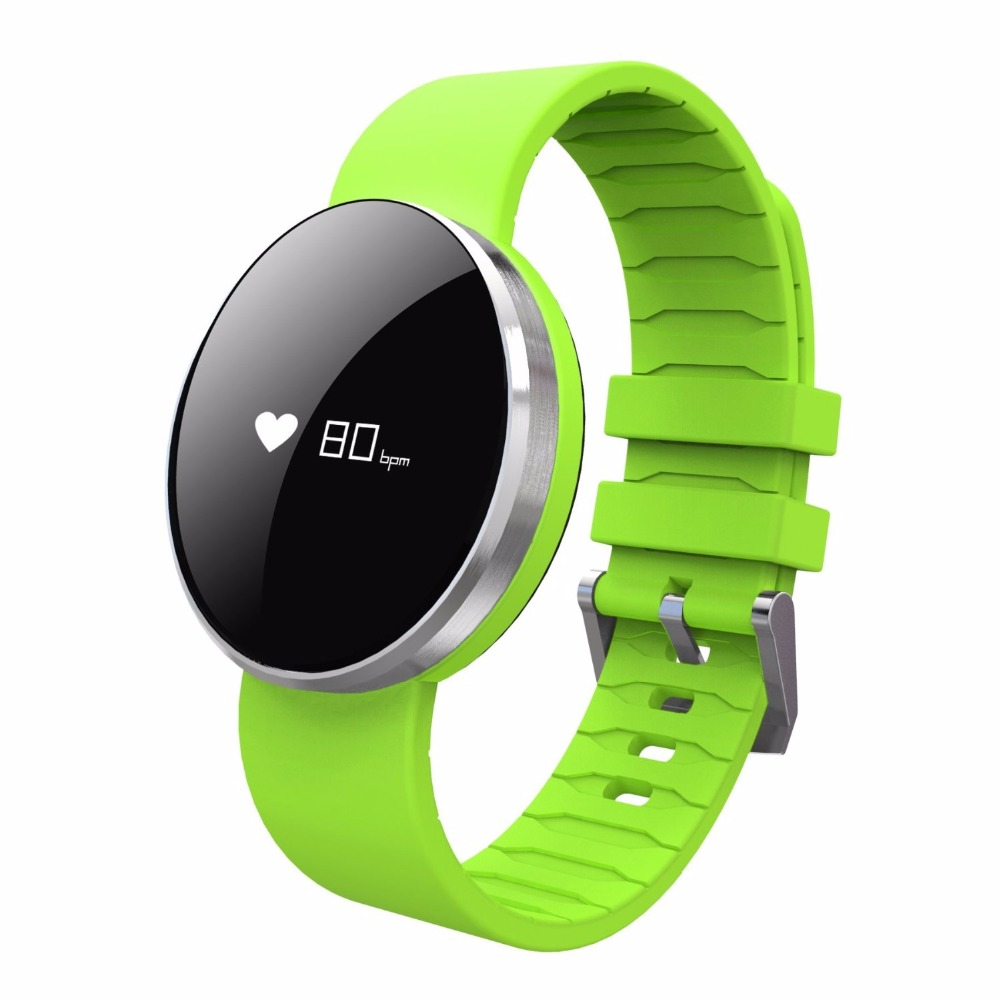 Moveski Smart Bracelet Bluetooth 4.0 IP67 Waterproof Long Standby-time Call reminder Real-time Pedometer Dynamic Heart Rate