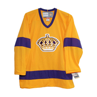 COLDINDOOR free shipping high quality vintage Los Angeles ice hockey jerseys