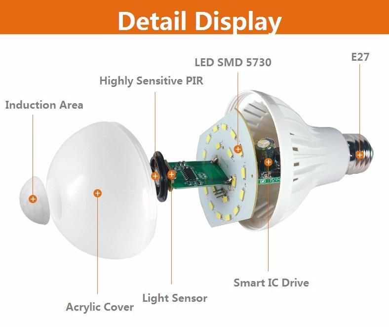 PIR-Motion-Sensor-Lamp-3W-5W-7W-9W-E27-220V-Led-Bulb-Sound-Sensor-Auto-Smart