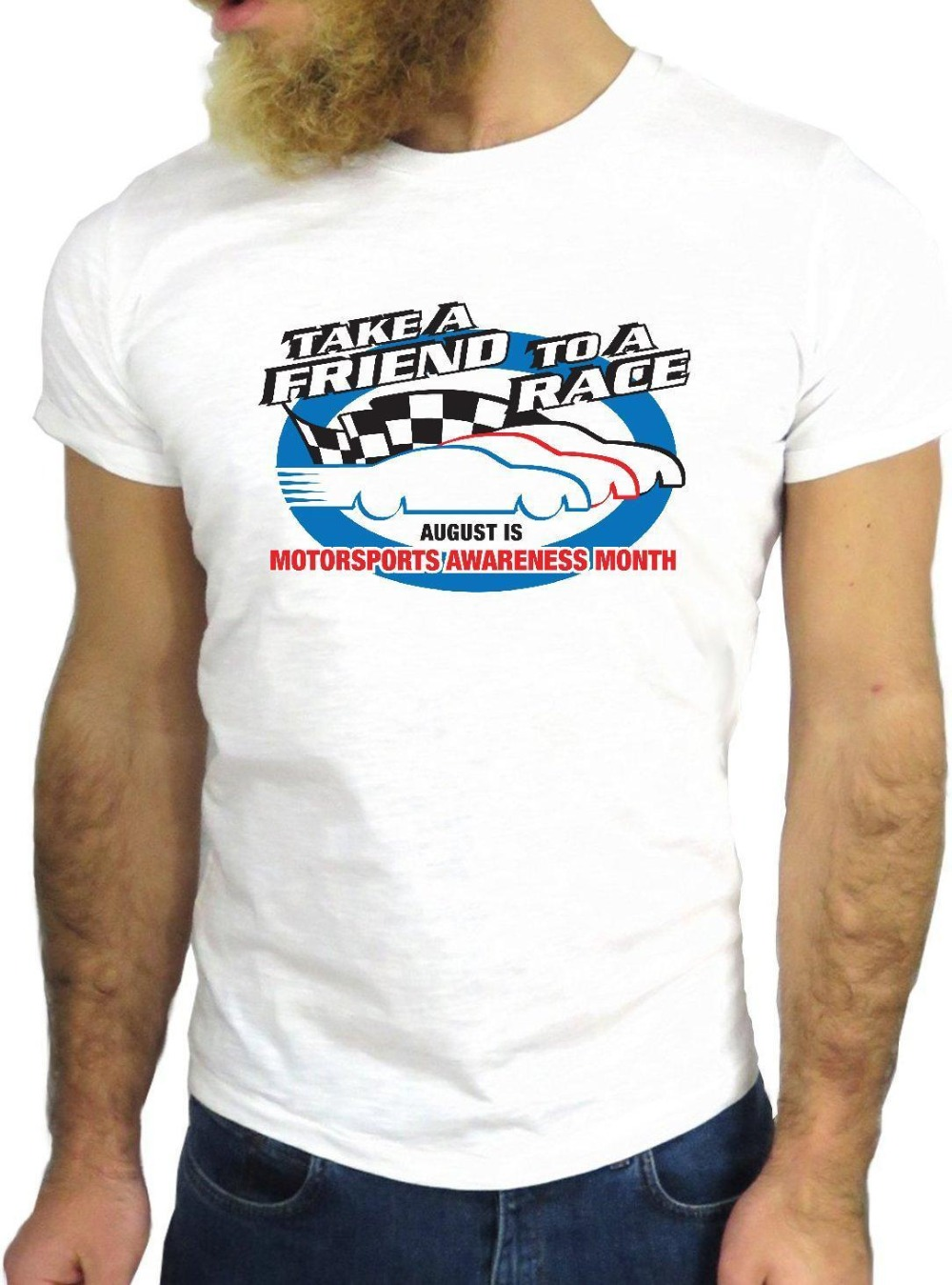 2019 New Fashion O Neck Slim Fit Tops Rider Race Car Fast Funny Nice Motorsport Usa Trip Road Skate Tshirt image