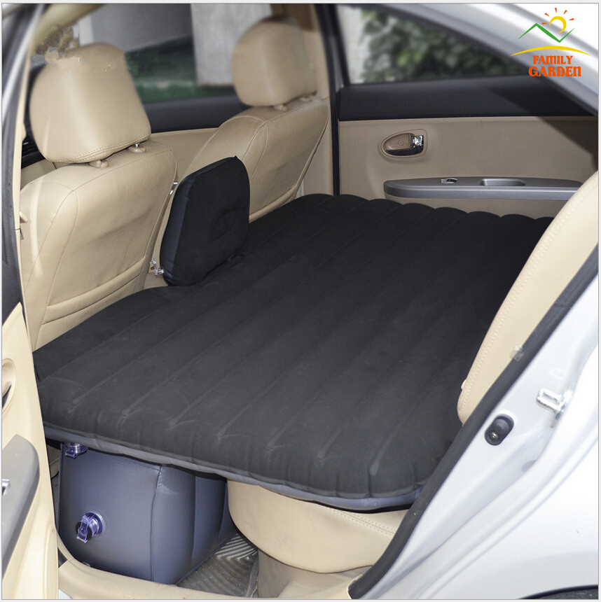 Car Travel Inflatable Mattress Inflatable Bed Camping Back ...