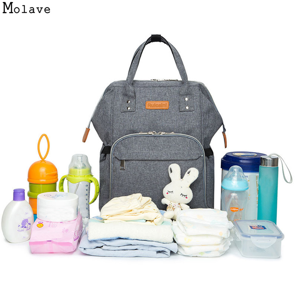 Diaper Bag Mommy Maternity Nappy Bags Large Capacity Baby Travel Backpack Desiger Nursing Bag Baby Care For Dad and Mom se243